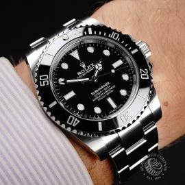 RO21854S Rolex Submariner Non Date Wrist