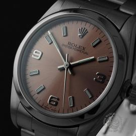 RO21830S Rolex Mid Size Oyster Perpetual Close1