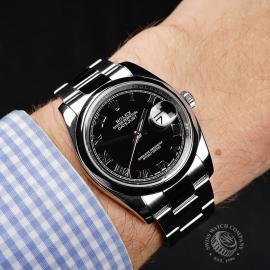 RO21978S Rolex Datejust 36 Wrist