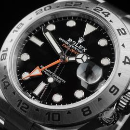 RO22474S Rolex Explorer II Orange Hand Unworn Close2