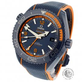 OM21772S Omega Seamaster Planet Ocean GMT 'Big Blue' Back 1