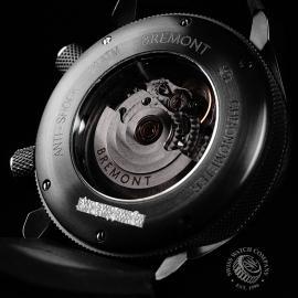 BM21731S Bremont U-2 Black Jet Pilot Watch Close9