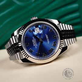 RO22710S Rolex Datejust 41 Unworn Close10