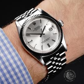 RO22030S Rolex Vintage Datejust 36 Wrist
