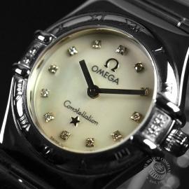 18013S Omega Ladies Constellation My Choice Mini Quartz Close3