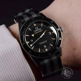 21329S Omega Seamaster 300 Master Co Axial SPECTRE Limited Edition Wrist