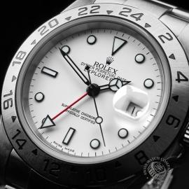 RO21616S Rolex Explorer II 16570 Close2