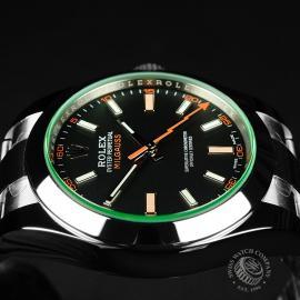 RO21986S Rolex Milgauss Unworn Close7 1