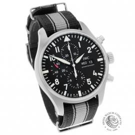 IW21663S IWC Pilots Chronograph Dial 1