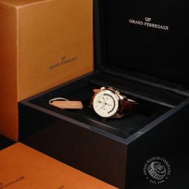 GP22191S Girard Perregaux World Time Chronograph 18ct Box
