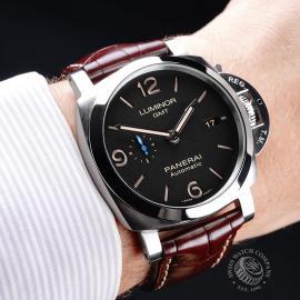 PA21799S Panerai Luminor 1950 3 Day GMT Wrist