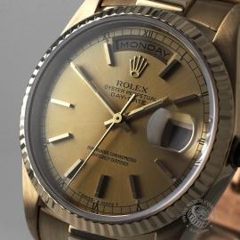 RO21640S Rolex Day-Date President 18238 Close1