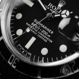 RO21817S Rolex Submariner Date Close4