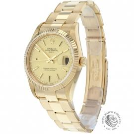 Rolex Oyster Perpetual Date 18ct