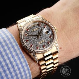 RO1927P Rolex Day-Date President 'Diamond' Wrist