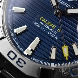 TA21065S Tag Heuer Aquaracer Calibre 5 Close6