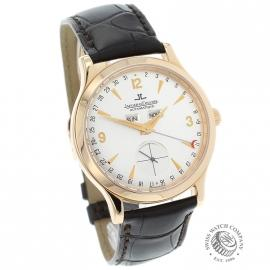 JL1879P Jaeger LeCoultre Master Date 18ct Rose Gold Dial