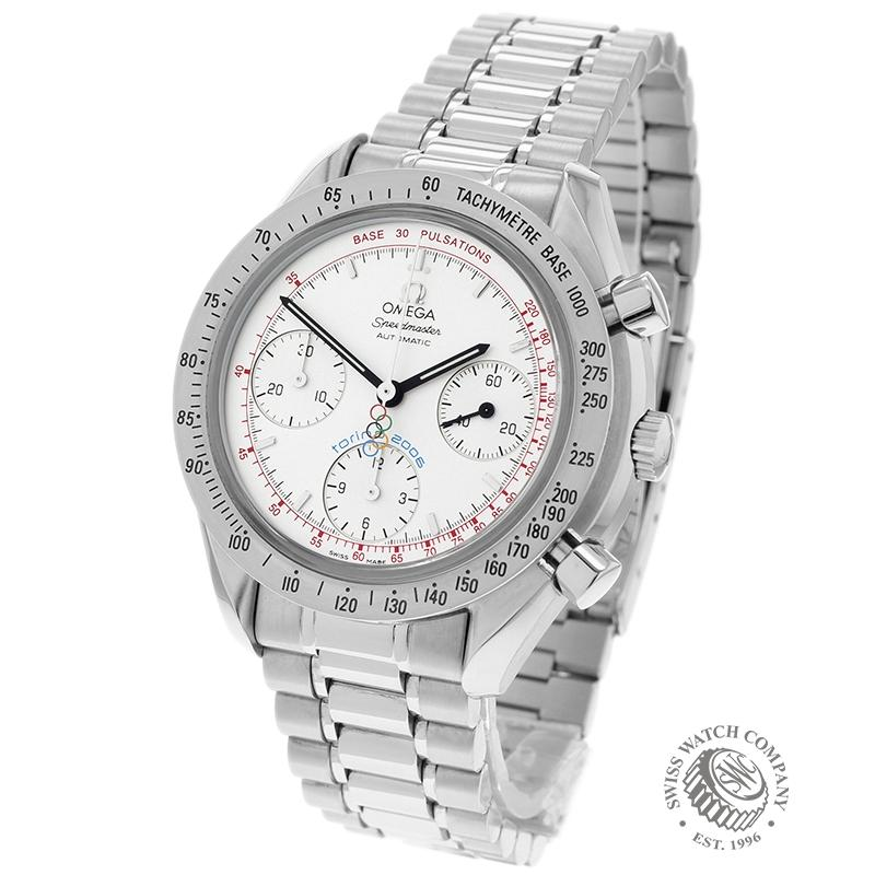 Omega Speedmaster Reduced Limited Edition Torino Olympics