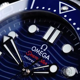 OM21801S Omega Seamaster Professional 300M Close3