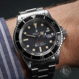 RO1970P Rolex Submariner Date 'Single Red' Wrist