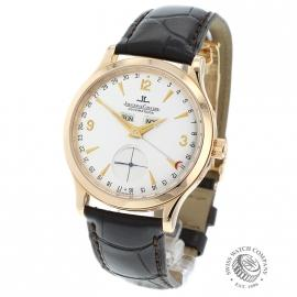 JL1879P Jaeger LeCoultre Master Date 18ct Rose Gold Back
