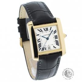 CA21253S Cartier Tank Francaise Mid Size18ct Dial