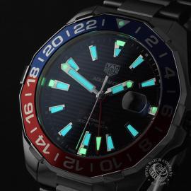 TA22134S Tag Heuer Aquaracer GMT Close1