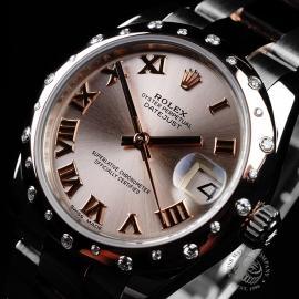 RO21702S Rolex Ladies Datejust Midsize Close2