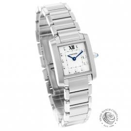 CA21054S Cartier Ladies Tank Francaise Small Model Dial 1
