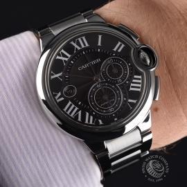 CA20853S Cartier Ballon Bleu Chronograph Extra Large Size Wrist 1