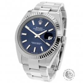 RO22310S Rolex Datejust 41 Back