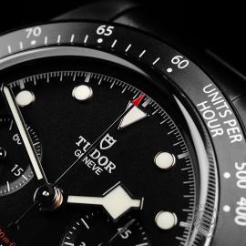 TU22227S Tudor Heritage Black Bay Chronograph Dark Close3