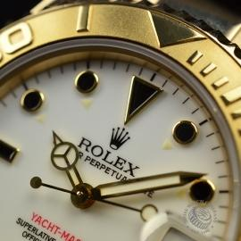 RO21031S Rolex Yachtmaster Mid Size 18ct Close5