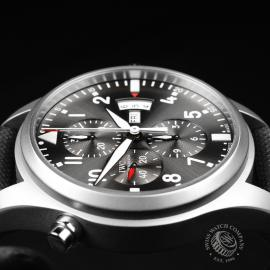 IW21828S IWC Pilots Double Chronograph 'Partouille Suisee'  Close6