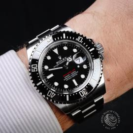 RO21808S Rolex Sea Dweller 50th Anniversary Unworn Wrist