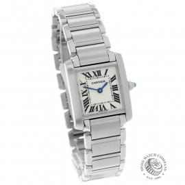 CA22133S Cartier Ladies Tank Francaise Small Model Dial
