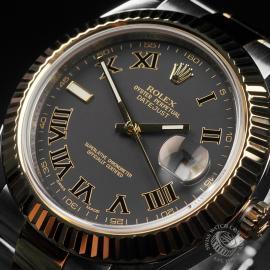 RO22735S Rolex Datejust II Close4