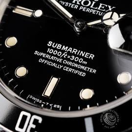 RO21827S Rolex Submariner Date Transitional Close 4
