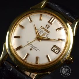 Vintage Omega Constellation 18ct Close2