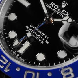 RO22681S Rolex GMT Master II 'Batman' Close4 1