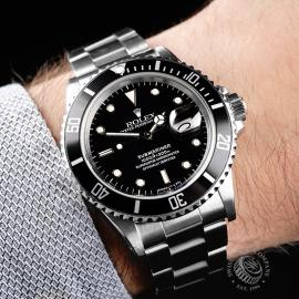 RO21827S Rolex Submariner Date Transitional Wrist