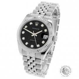 RO21505S Rolex Ladies Datejust Midsize Back