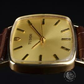 21456S Vintage Tudor Dress Watch 9ct Close3