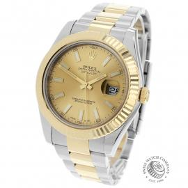 RO1933P Rolex Datejust II Back