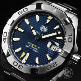 TA21065S Tag Heuer Aquaracer Calibre 5 Close2