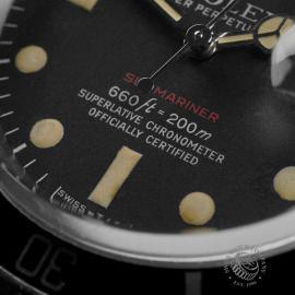 RO1970P Rolex Submariner Date 'Single Red' Close4 1
