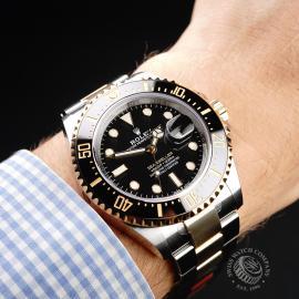 RO22038S Rolex Sea-Dweller Unworn Wrist
