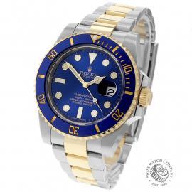 RO22693S Rolex Submariner Date Back