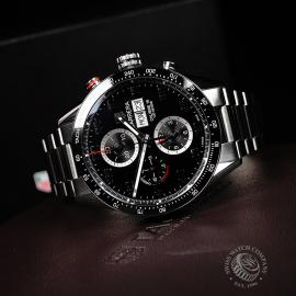 TA21988S Tag Heuer Carrera Calibre 16 Day-Date Chrono Close10