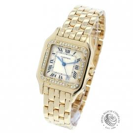 1863F Cartier Ladies Panthere 18ct back